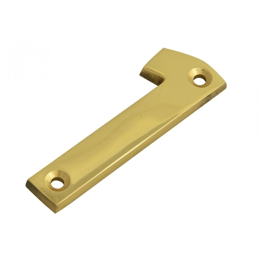 Forge Numeral No.1 - Brass Finish 75mm 3in
