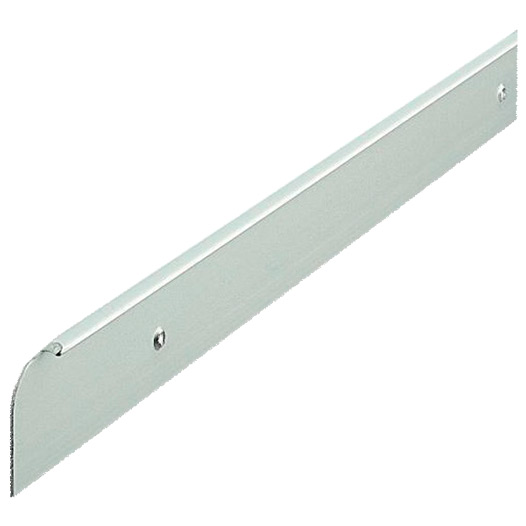 Worktop Trim End Cap, Matt Silver Finish 30mm x 630mm