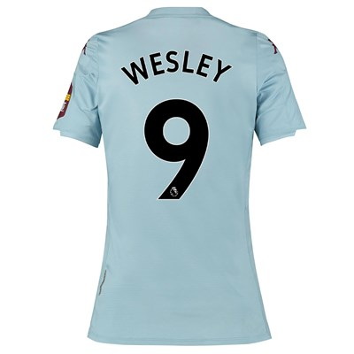 Aston Villa Away Shirt 2019-20 - Womens with Wesley 9 printing