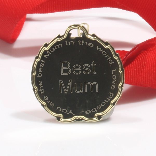 Best Mum Medal Ribbon