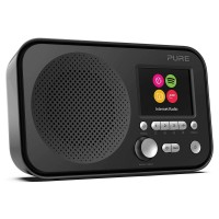 ELAN-IR3-BLACK Portable Internet Radio with Spotify Connect