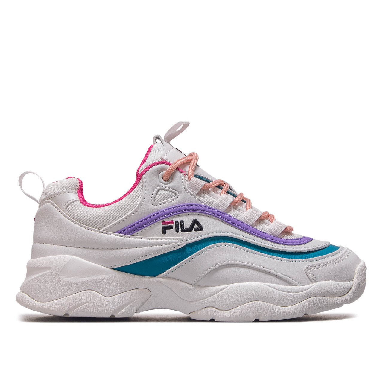 Fila Wmn Ray Low White Berry Caribbean