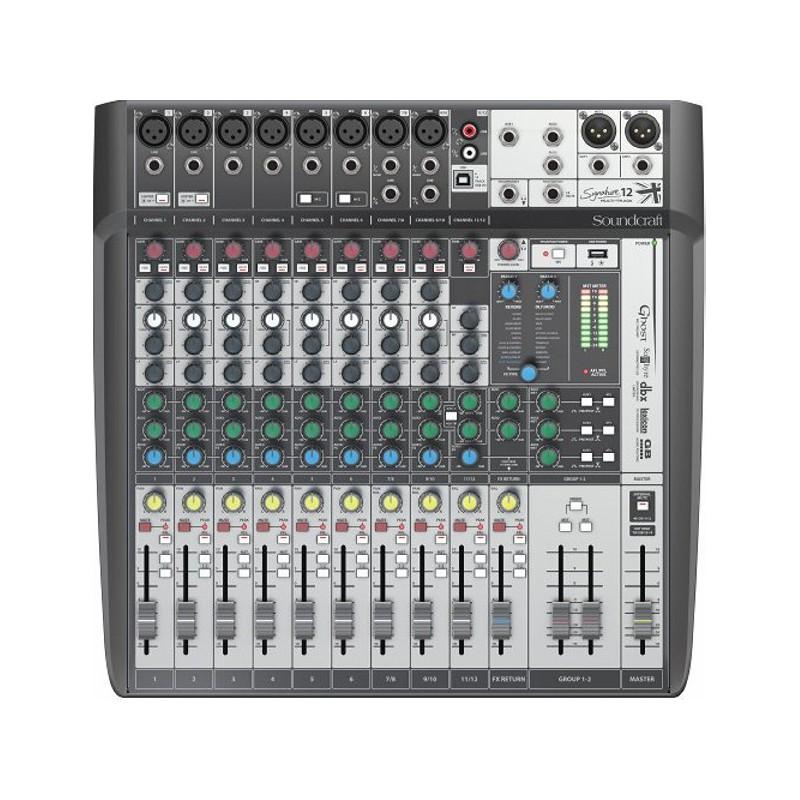 Soundcraft Signature 12 MTK Kompaktmixer