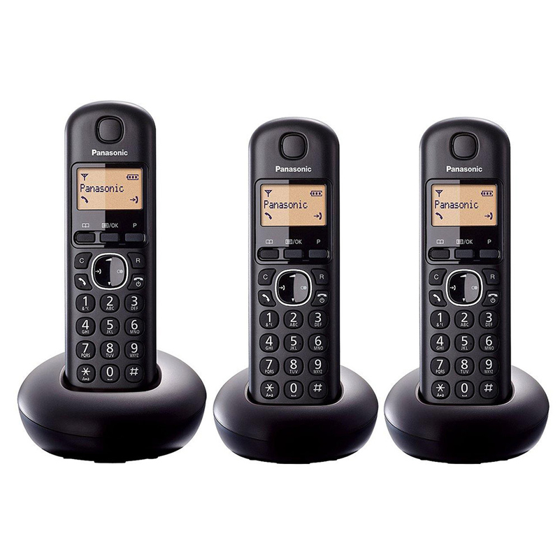 Panasonic Trio Digital Cordless Telephone 16h Talk Time