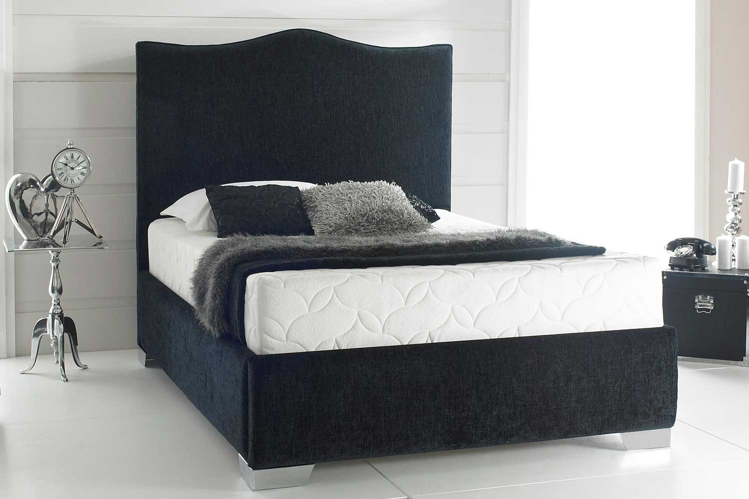 Joseph Zara Fabric Bed Frame-Single