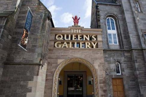 Palace of Holyroodhouse - Queens Gallery