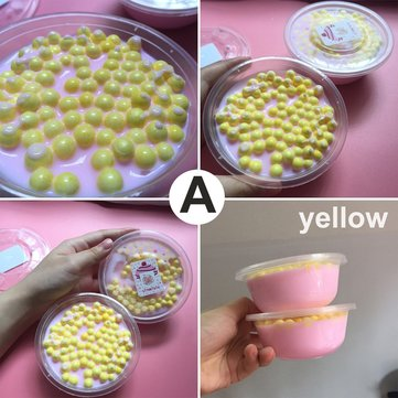 DIY Rubber Slime Scented Stress Relief Release Clay Toy Plasticine Gifts