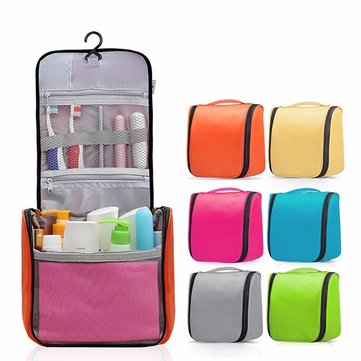 Waterproof Multifunction Travel Wash Cosmetic Bag Makeup Hanging Case Storage Bag