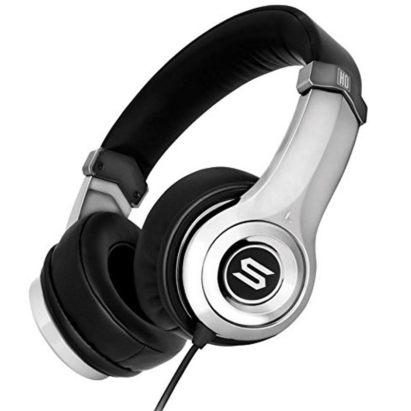 Soul Ultra High Definition Dynamic Bass On-Ear Headphones