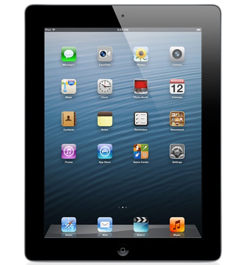 ipad 4 16GB Wifi Black