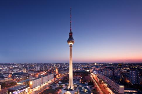 TV Tower Berlin. Restaurant – Window Table