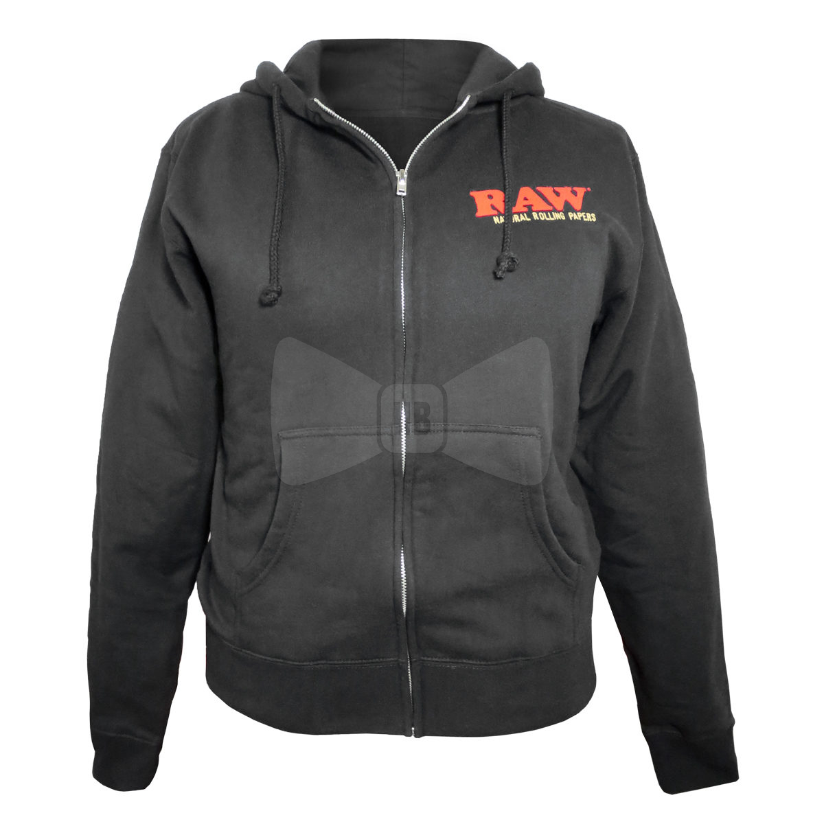 RAW Ladies Zip-Up Hoodie Medium