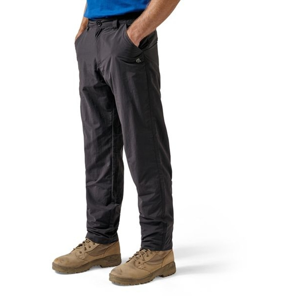 Craghoppers Mens NosiLife Hot Climate Adventure Travel Trousers 40 - Waist 40' (102cm) S - 29' (73.66cm)