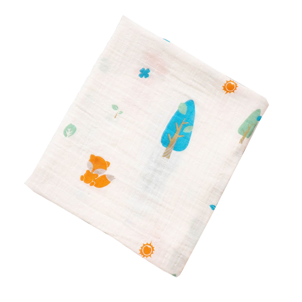 Baby Breathable Cotton Blanket