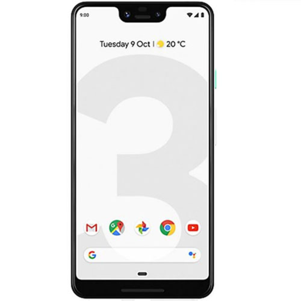 Google Pixel 3a XL 128GB Clearly White GSM Unlocked