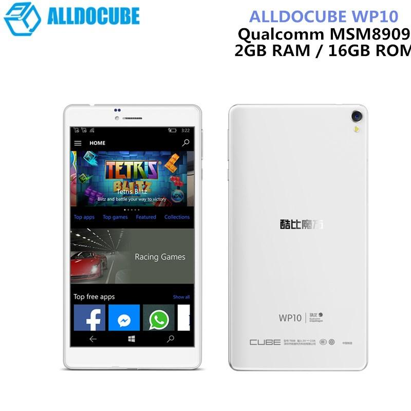 ALLDOCUBE WP10 6.98 Inch 4G LTE Phone Call Tablet Windows 10 Mobile Quad Core 1.3GHz 2GB RAM 16GB Camera IPS Screen WiFi OTG GPS
