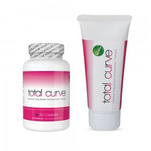 Total Curve Combo Pack - Tratamiento Intensivo Para Senos - 60 Capsulas & 88ml Gel
