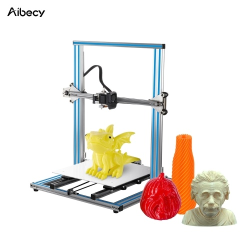 Aibecy DY-H9S DIY 3D Printer Large Print Size 300 * 300 * 400mm with Aluminum Structure 4.3'' Touchscreen Auto Power-off Resume Printing Function