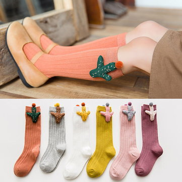 Cute Pattern Baby Girls Socks