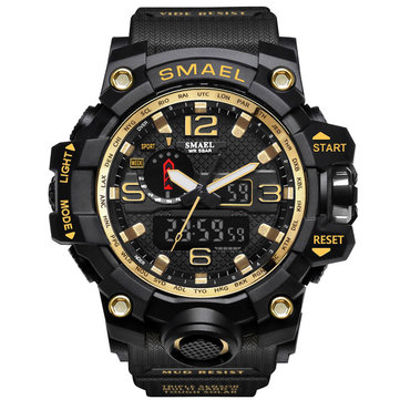 SMAEL Dual Display Sports Watch