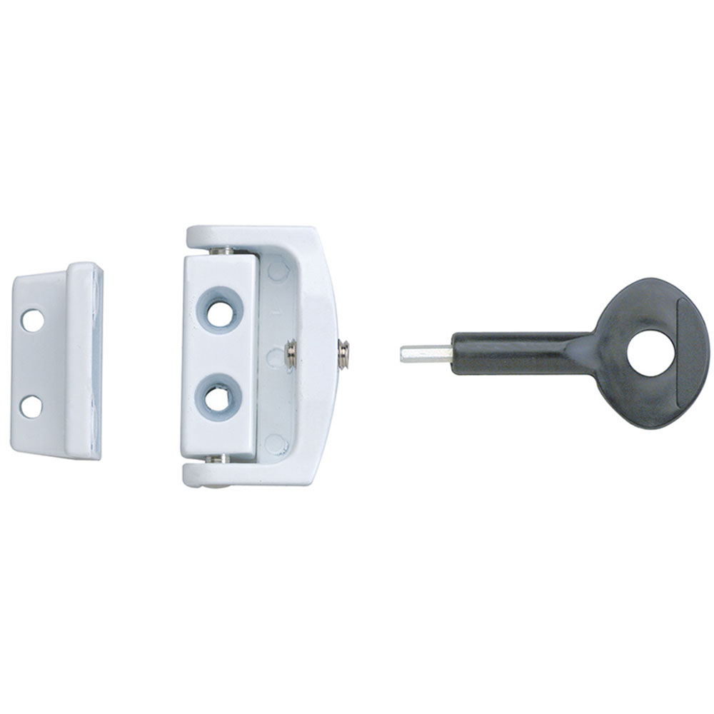 Yale P113 Toggle Window Locks White Pack of 2