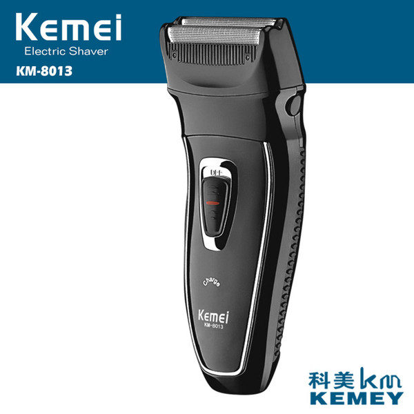 kemei rechargeable electric shaver reciprocating electronic shaving machine rotary hair trimmer face care razor km-8013 40d