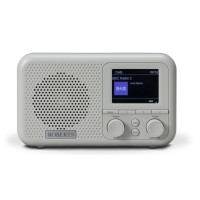 PLAY M4 DAB+/DAB/FM Portable Radio - Grey