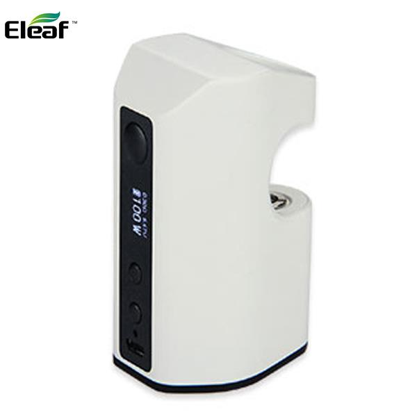 Authentic iSmoka Eleaf Aster RT 100W 4400mAh Battery TC Box Mod APV 22MM - White Silver