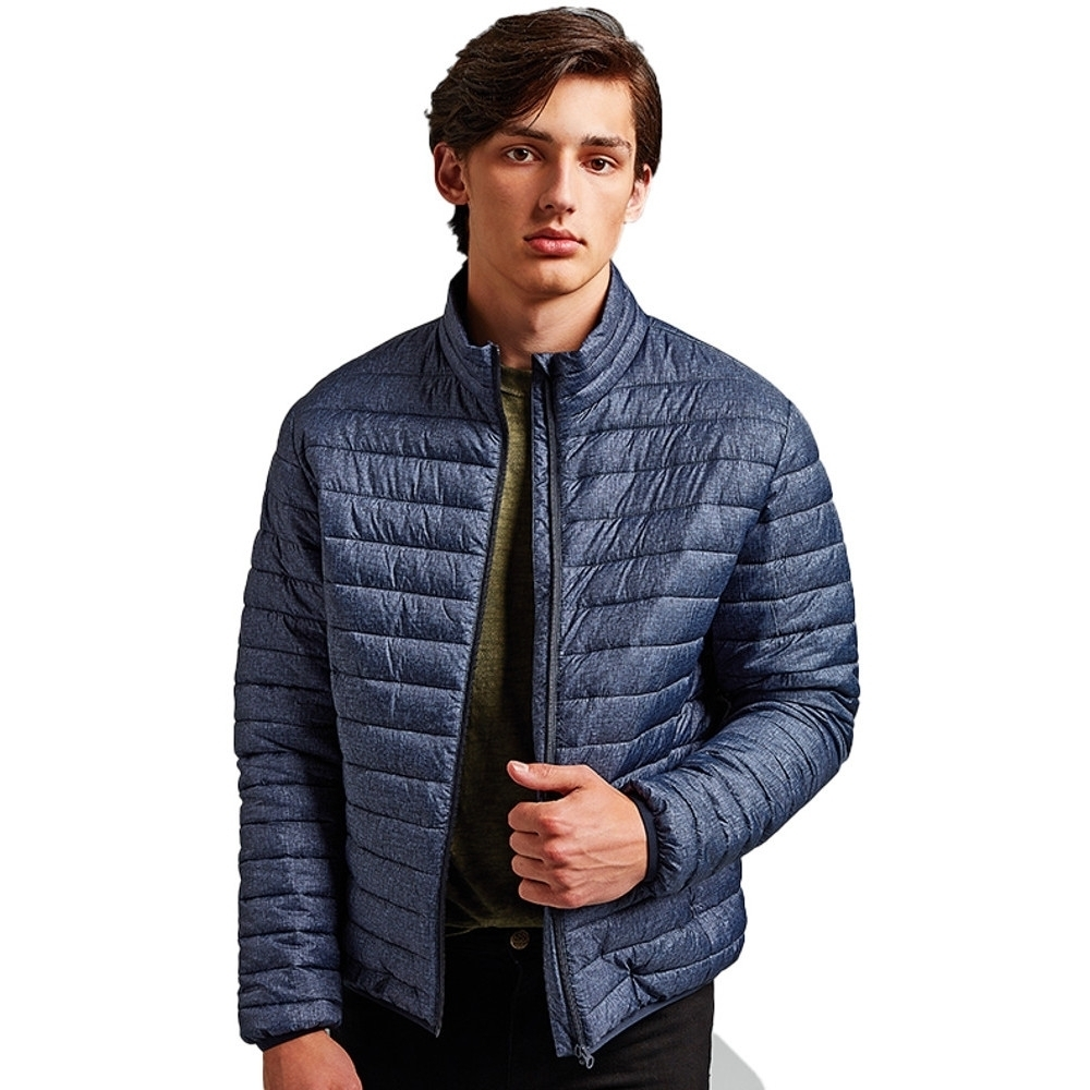 Outdoor Look Mens Melange Lightweight Warm Padded Jacket S- Chest 38'