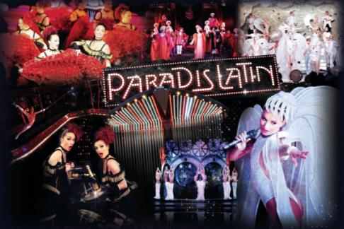 Paradis Latin - Revue et Champagne + FREE Cruise