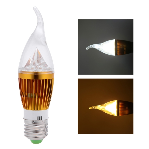 E27 10W LED Candle Light Bulb Chandelier Lamp Spotlight High Power AC85-265V