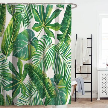 150x180cm Green Style Shower Curtain