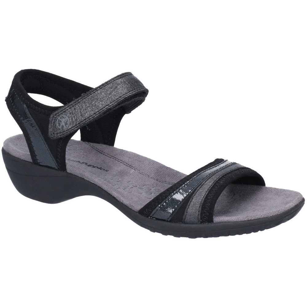 Hush Puppies Womens Athos Ankle Strap Adjustable Sandals UK Size 9 (EU 43)