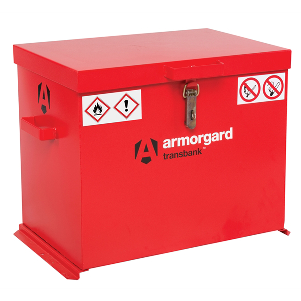 "Armorgard TransBankâ""¢ Hazard Transport Box 685 x 480 x 520mm"