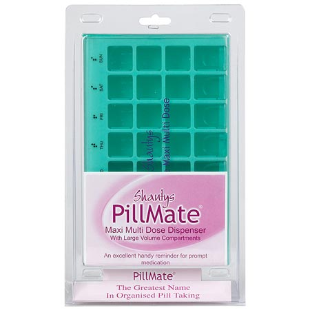PillMate Maxi Multi Dose Dispenser