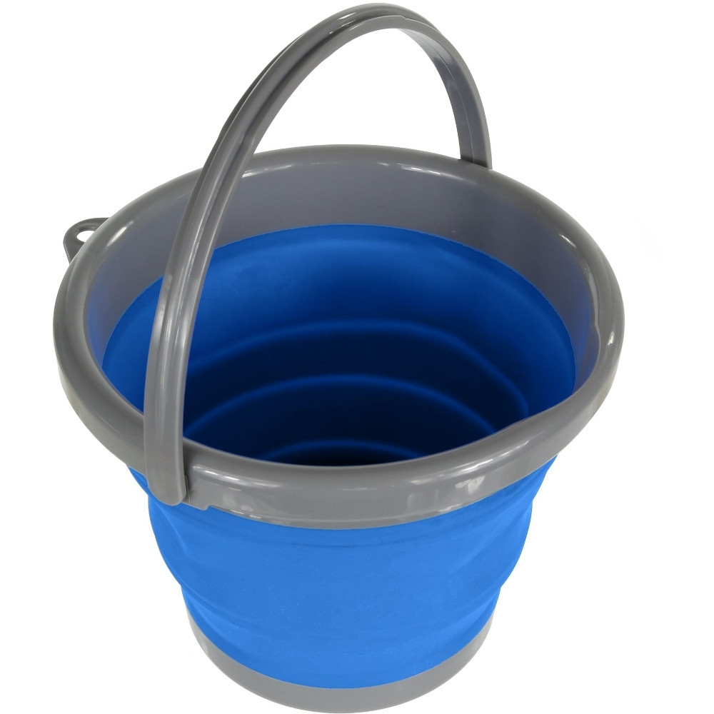 Regatta TPR Folding Collapsible Light Durable Camping Bucket One Size