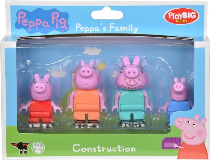 BIG PlayBIG Bloxx Peppa Pig Peppa's Family (800057113)
