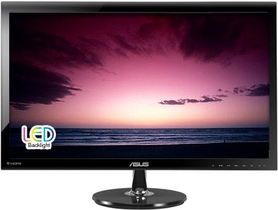 ASUS VS278Q - LED-Monitor - 68.6 cm (27