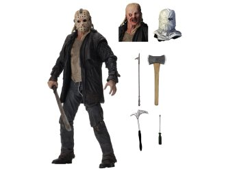 Jason Voorhees Ultimate Edition Poseable Figure from Friday the 13th 2009