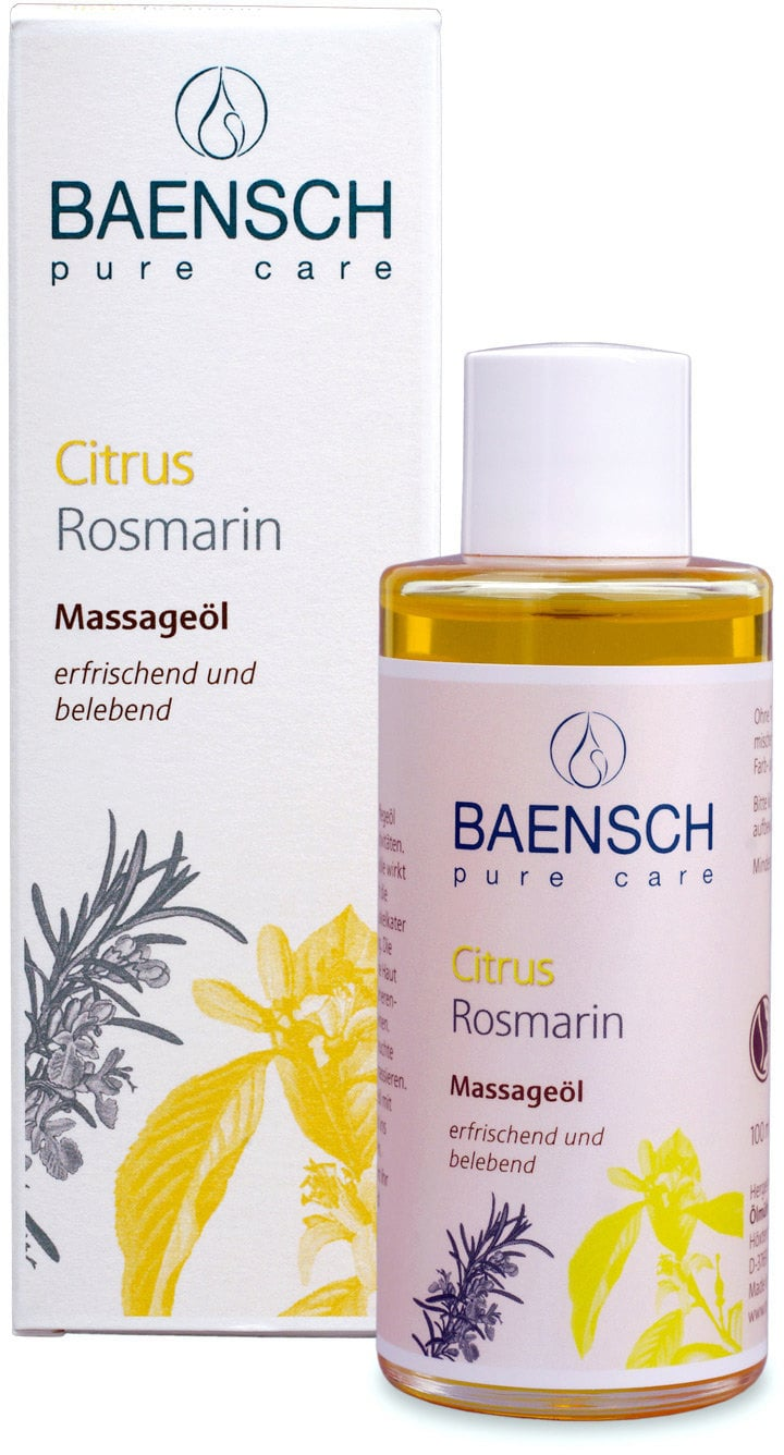 BAENSCH pure care Citrus Rosemary Massage Oil