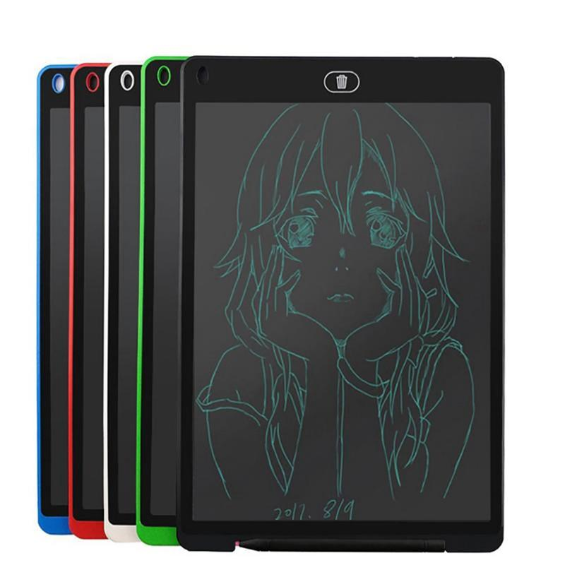 12 inch LCD Writing Tablet Touch Pad Office Electronic Board Magnetic Fridge Message Stylus Kids Birthday Christmas Day Gifts 12inch