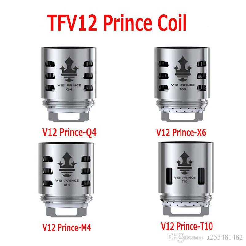 TFV12 Prince Tank Coils V12-Q4 M4 X6 T10 Mesh Strip Coils Head Core For Resa Prince Atomizers