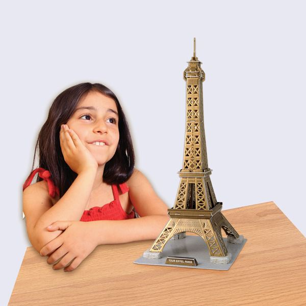 Build-Your-Own Giant 3D Puzzle - Eiffel Tower