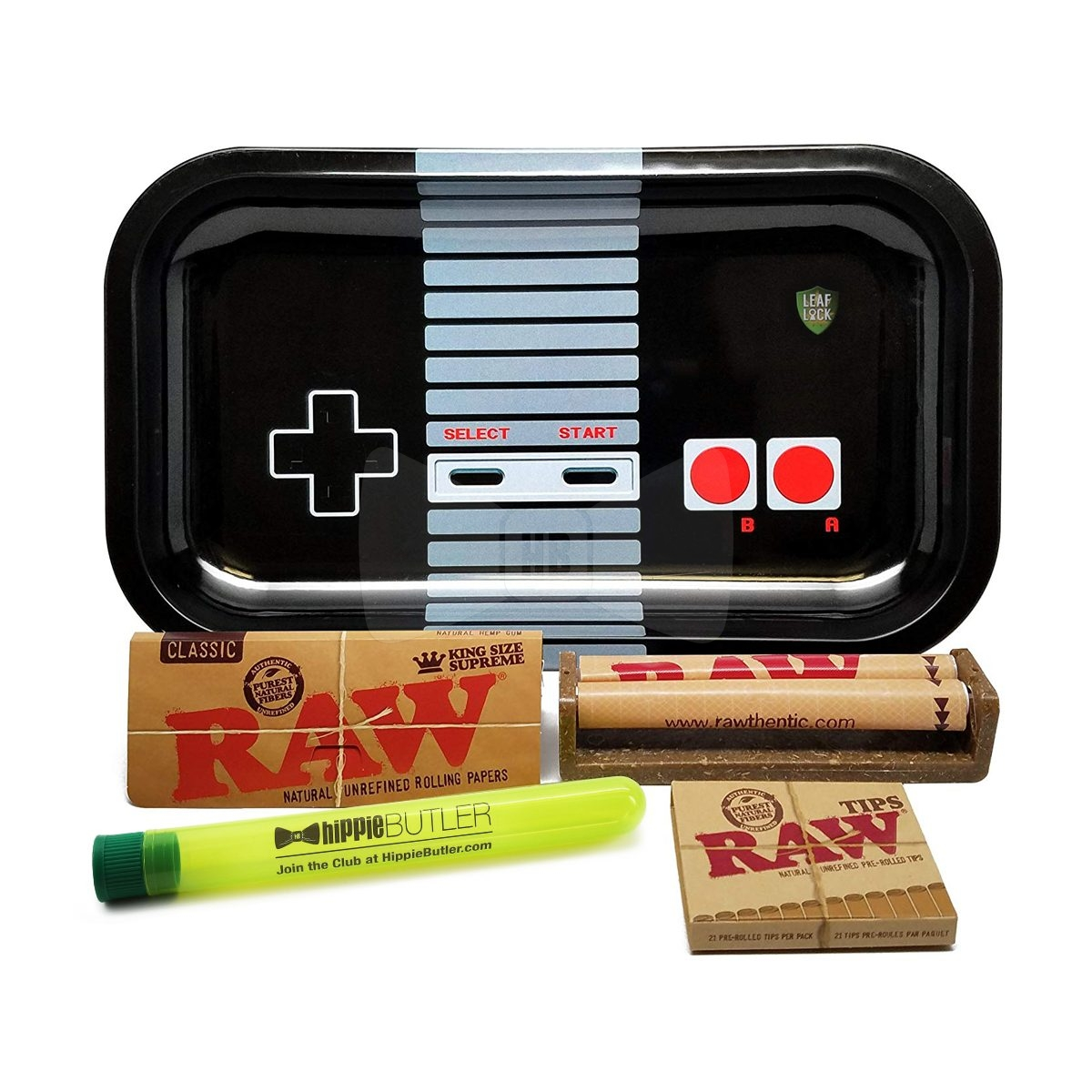 RAW King Supreme Rolling Bundle with Tray Game Controller