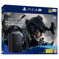 PlayStation 4 Pro 1TB with Call of Duty: Modern Warfare