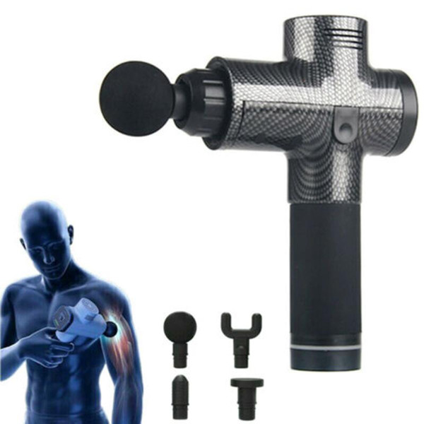new muscle massage gun fascia gun electric massager depth relief muscle relaxation vibration fitness accessories