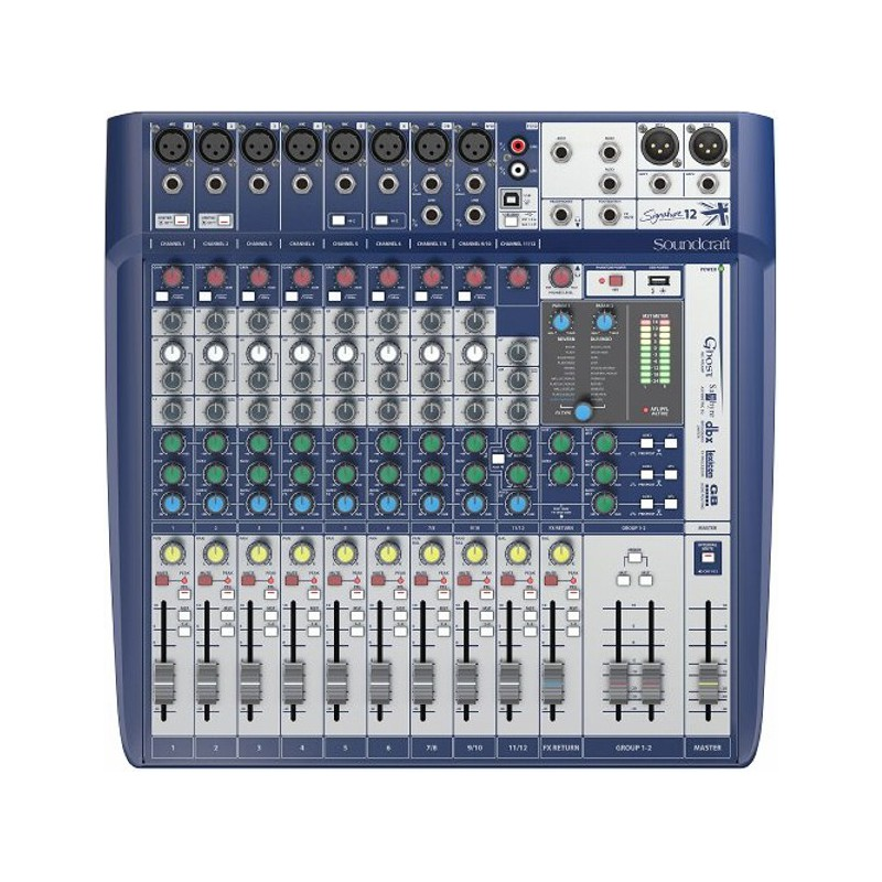 Soundcraft Signature 12 Kompaktmixer