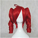 Cosplay Costume Wig Synthetic Wig Cosplay Wig Loose Wave Loose Wave With Ponytail Wig Blonde Medium Length Yellow Red Blonde Brown Synthetic Hair Women's Red Blonde Brown hairjoy