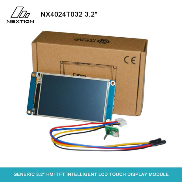 "Nextion NX4024T032 - Generic 3.2"" HMI TFT Intelligent LCD Applied to IoT or Consumer Electronics Field Touch Display Module"