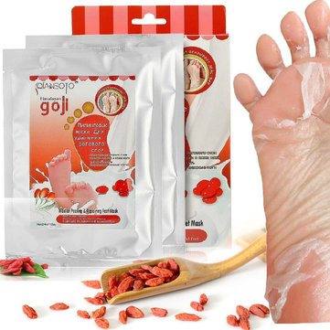 2 Pairs Medlar Peeling Extract Foot Mask Natural Exfoliating